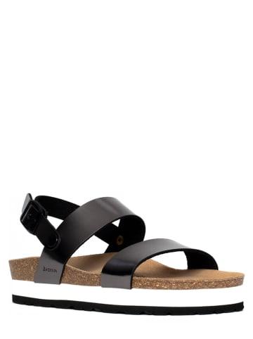BACKSUN Sandały w kolorze czarnym