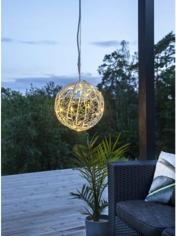 "Best Season Decoratieve ledhanger ""Ball"" wit - Ø 35 cm"