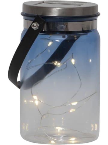 "Best Season LED-Solar-Dekoobjekt ""Tint"" in Blau - (H)15 cm"
