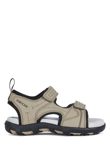 """Geox Sandały """"Pianeta"""" w kolorze beżowym"""