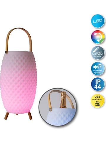 Näve 3in1-LED-Sektkühler mit Lautsprecher und Farbwechsel - (H)60 x Ø 19 cm