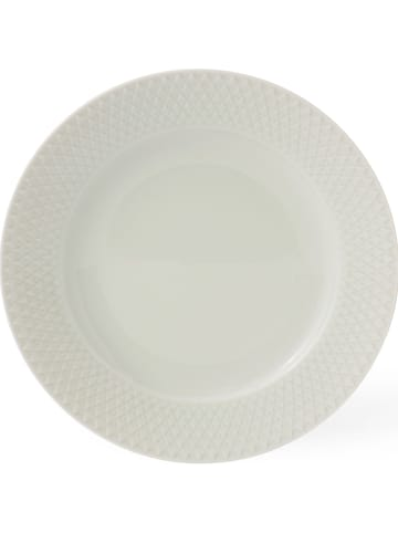 """LYNGBY Soepbord """"Rhombe"""" wit - Ø 23 cm"""