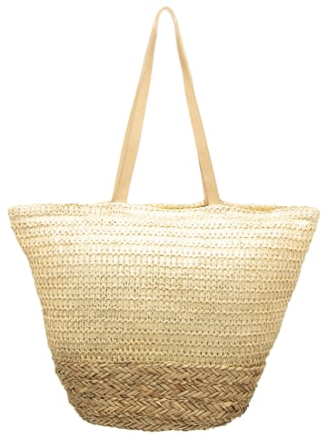 My Summer Closet Shopper bag w kolorze beżowym - 45 x 38 x 11 cm