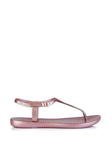 Coloko Sandały w kolorze jasnoróżowym