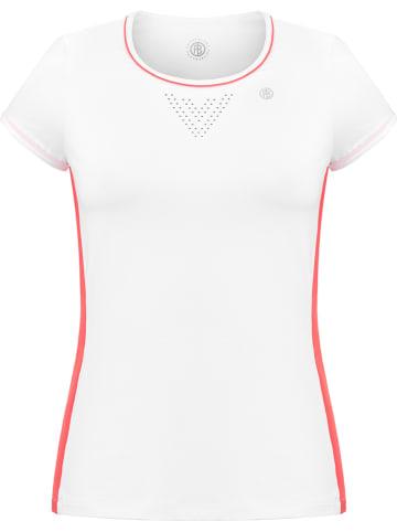 Poivre Blanc Koszulka sportowa w kolorze białym