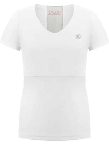 Poivre Blanc Shirt in Weiß