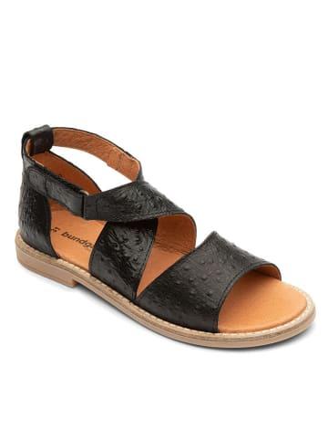 Bundgaard Leren sandalen zwart