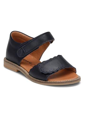 "Bundgaard Leren sandalen ""Alma"" donkerblauw"