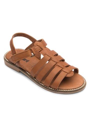 "Bundgaard Leren sandalen ""Lisa"" lichtbruin"