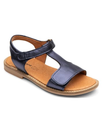 "Bundgaard Leren sandalen ""Luna"" donkerblauw"