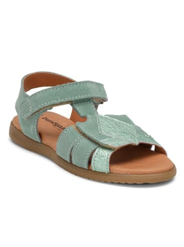 "Bundgaard Leder-Sandalen ""Filippa"" in Mint"
