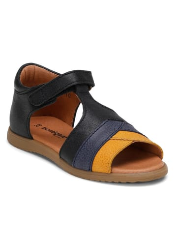 "Bundgaard Leren sandalen ""Fran"" zwart"