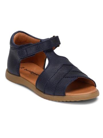 """Bundgaard Leren sandalen """"Fran"""" donkerblauw"""