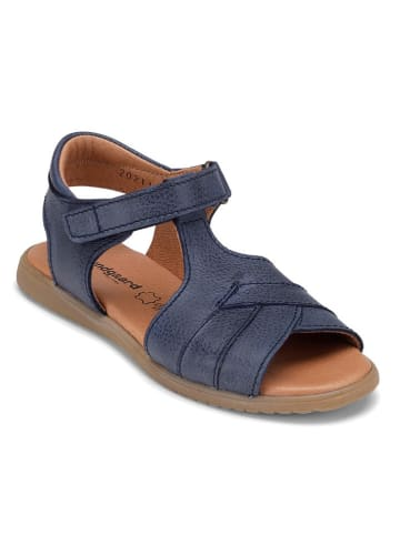 """Bundgaard Leren sandalen """"Frances"""" donkerblauw"""