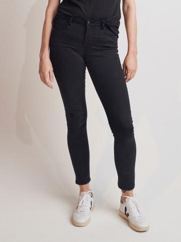 """OPUS Dżinsy """"Cadou"""" - Skinny fit - w kolorze czarnym"""