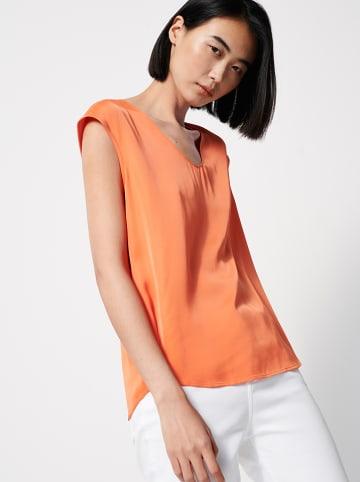 """OPUS Shirt """"Zadira"""" in Orange"""