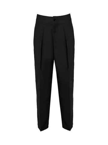 European Culture Spodnie w kolorze czarnym