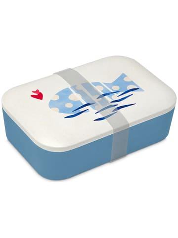 Ppd Pojemnik w kolorze biało-niebieskim na lunch - 900 ml