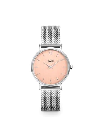 "CLUSE Zegarek ""Minuit"" w kolorze srebrnym"