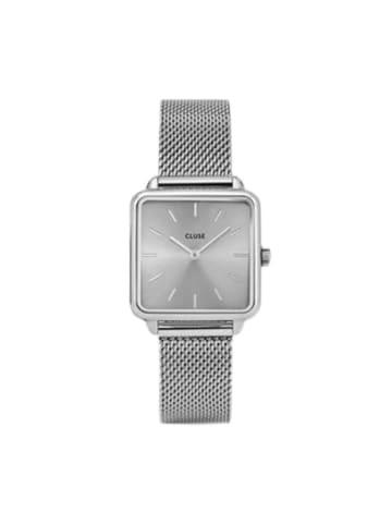 "CLUSE Zegarek ""Tétragone"" w kolorze srebrnym"