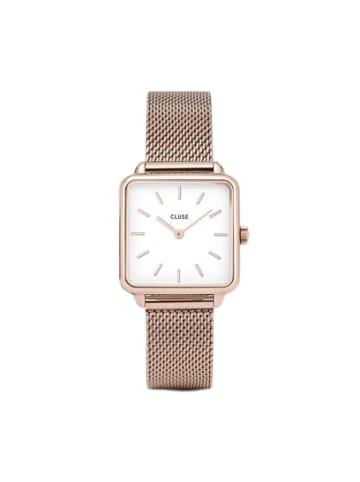 """CLUSE Zegarek """"Tétragone"""" w kolorze różowego złota"""