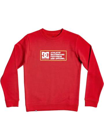 "DC Sweatshirt ""Sketchy Zone"" in Rot"
