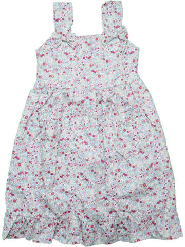 Deux ans de vacances Sukienka w kolorze beżowym ze wzorem
