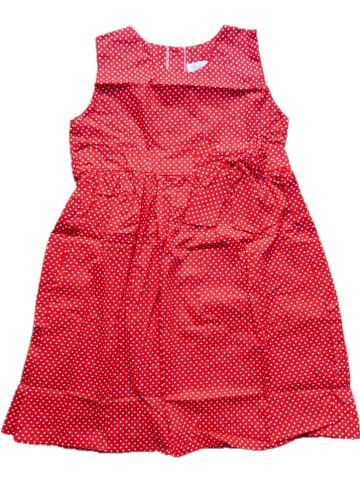 Deux ans de vacances Sukienka w kolorze czerwonym