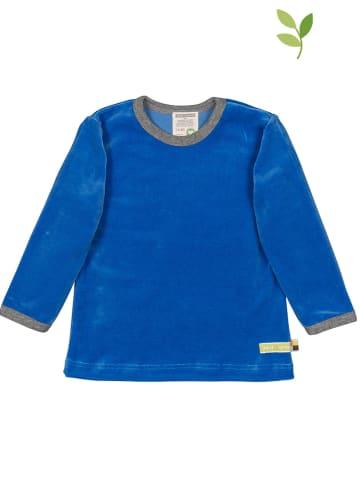 Loud + proud Koszulka w kolorze niebieskim