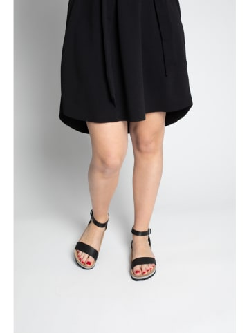"Bluebay Leren sandalen ""Wellington"" zwart"