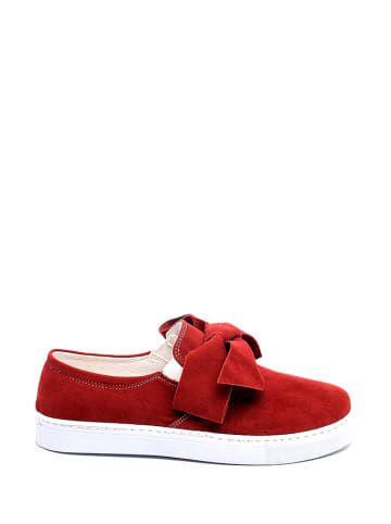 Just Bow Slipper in Rot