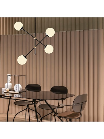 """Opviq Lampa sufitowa """"Best"""" w kolorze czarno-białym - 80 x 80 cm"""