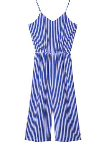 "LMTD Jumpsuit ""Daya"" in Blau/ Weiß"