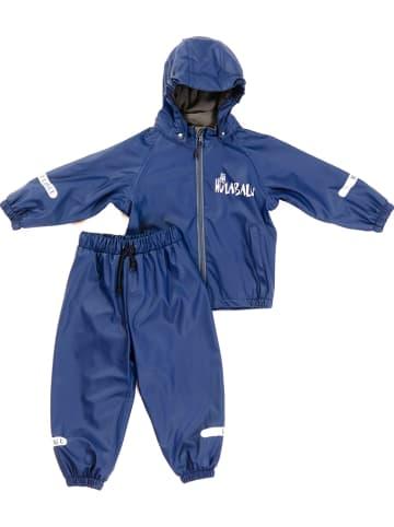 "HULABALU 2-delig regenpak ""Pixy"" blauw"