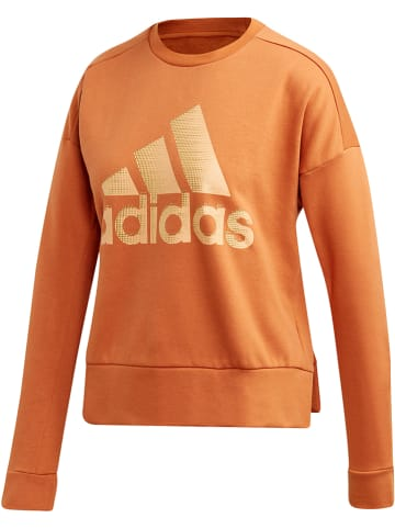 Adidas Bluza w kolorze pomarańczowym