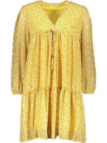 Ella Paris Kleid in Gelb/ Bunt