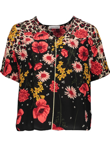 My Summer Closet Koszulka w kolorze czarnym ze wzorem