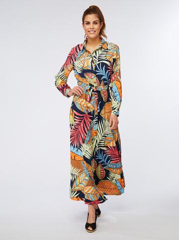 Ella Paris Sukienka w kolorze granatowym ze wzorem