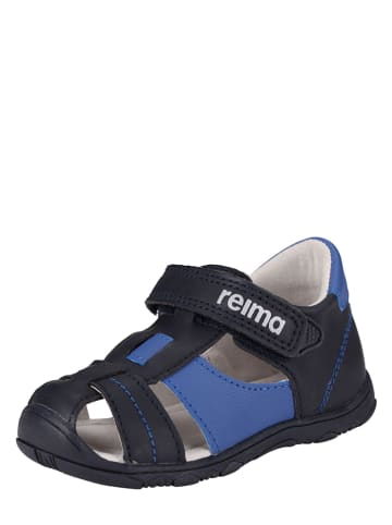 Reima Enkelsandalen zwart/blauw