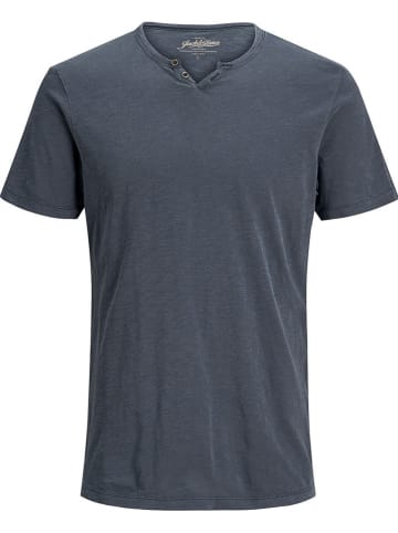 "Jack & Jones Shirt ""Split"" donkerblauw"