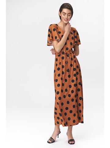 Nife Sukienka w kolorze brązowo-czarnym