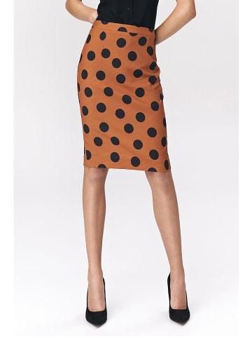 Nife Spódnica w kolorze brązowym