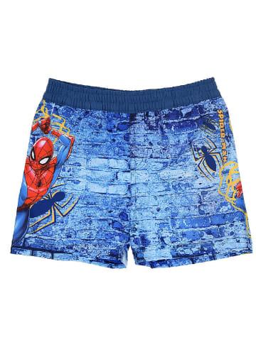 """Spiderman Badeshorts """"Spider-Man"""" in Blau"""