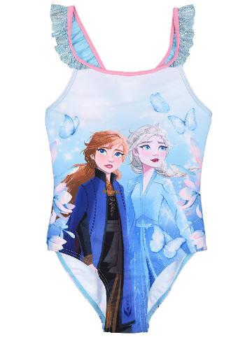 """Disney Frozen Badeanzug """"Frozen"""" in Hellblau"""