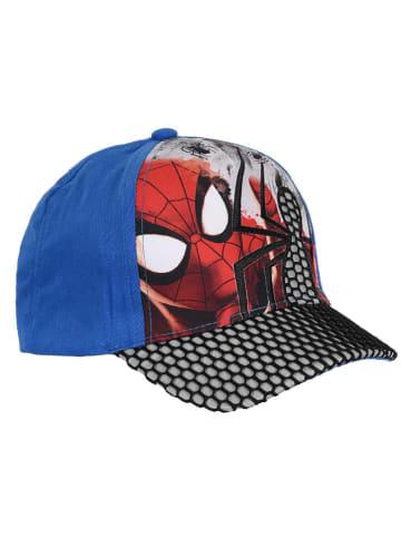"""Spiderman Czapka """"Spider-Man"""" w kolorze czerwono-niebiesko-czarnym"""