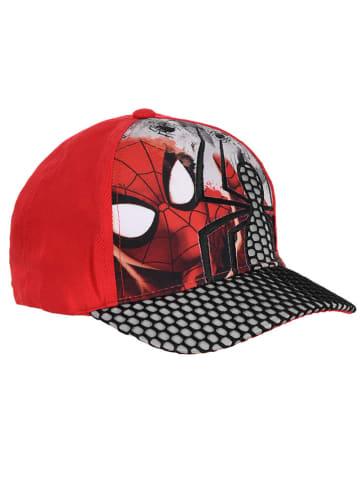 """Spiderman Cap """"Spiderman"""" in Rot/ Schwarz"""
