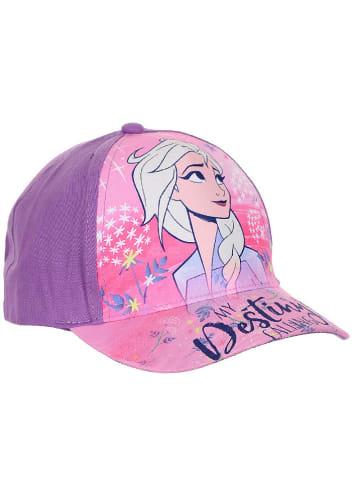 """Disney Frozen Czapka """"Frozen"""" w kolorze jasnoróżowo-fioletowym"""