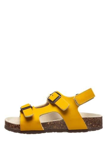 TREVIRGOLAZERO Sandalen in Gelb