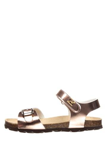 TREVIRGOLAZERO Sandały w kolorze różowozłotym
