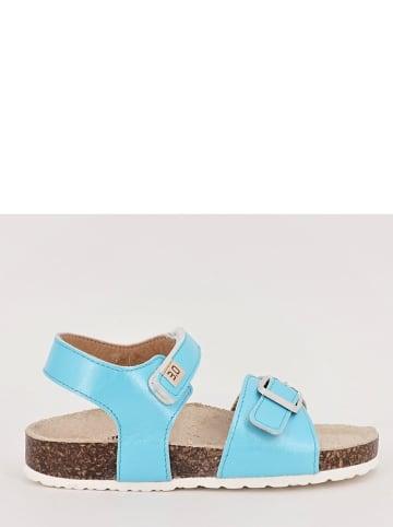 TREVIRGOLAZERO Sandały w kolorze niebieskim